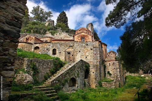 MYSTRAS – BYZANTINE CHURCHES,SPARTA