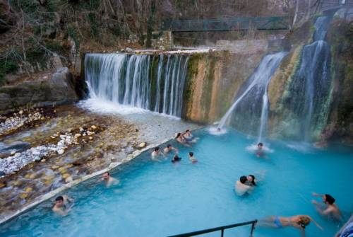 Hot Thermal Springs Kaiafa-Vromoneri